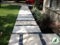 stone pavers path through grass Conroe, TX