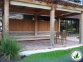 sitting area landscaping