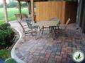 stone brick patio in Spring, TX