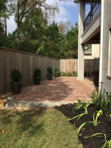 Retaining wall and patio2