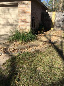 Rock Granite pathway in Galena Park, TX
